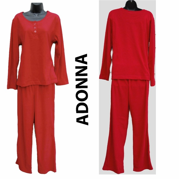 Adonna Other - SOFT Red Pajamas CUSTOM Medium Top + Small Pants